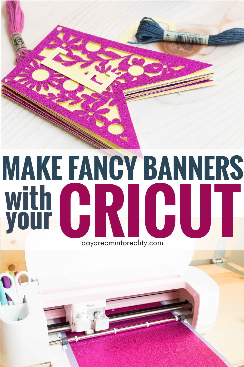 Make Stunning Banners With your Cricut +Free SVG Templates