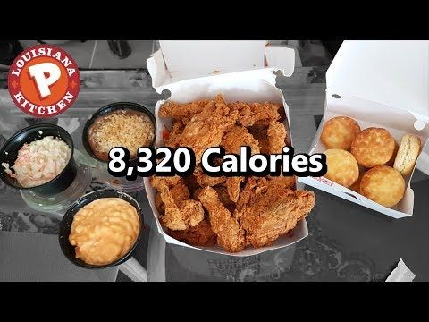 Popeyes 16pc Family Meal Challenge 8 000 Calories Youtube In 2020 Popeyes Menu Low Calorie Recipes Food