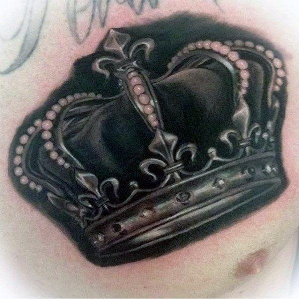 Tattoo Verb: 100 Crown Tattoos For Men