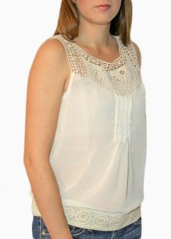 Touch of Crochet top $26.00