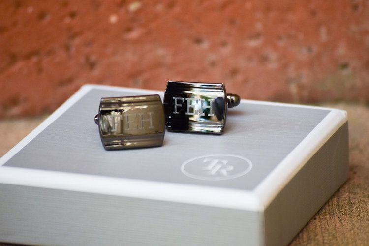 Groomsman Proposal Gift Ideas -- Engraved Groomsman Cuff Links - Things Remembered
