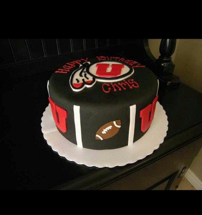 Miraculous Utes Cake University Of Utah Cake Utah Funny Birthday Cards Online Alyptdamsfinfo