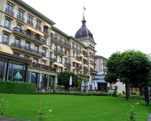 victoria jungfrau garnd hotel | Victoria Jungfrau Grand Hotel & Spa, Interlaken Switzerland | Flickr ...