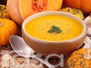 Sup Labu Kuning Cooking Food Chowder