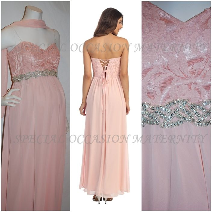 Tie Back Bridesmaid Dress