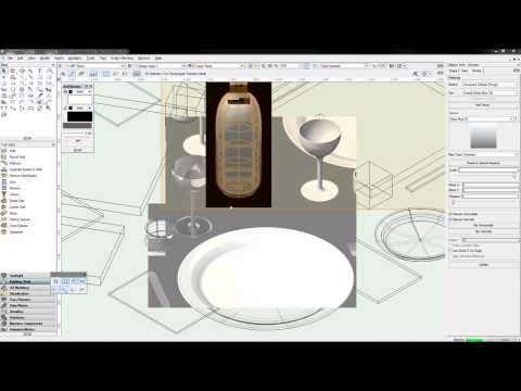 Vectorworks b lesson a rendering and textures youtube