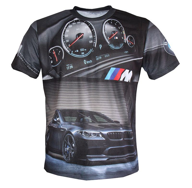 Bmw M Power M5 F10 Graphics Designed High Quality Sublimated Men S T