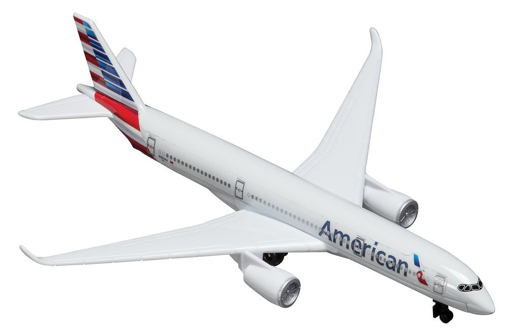 Model Toy American Airlines A350 Aircraft Vehicle Game Diecast Airplane Kid Gift Christmas American Airlines Diecast Airplanes Airplane Kids
