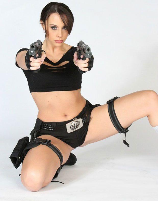 Laura Croft adulte vidéo