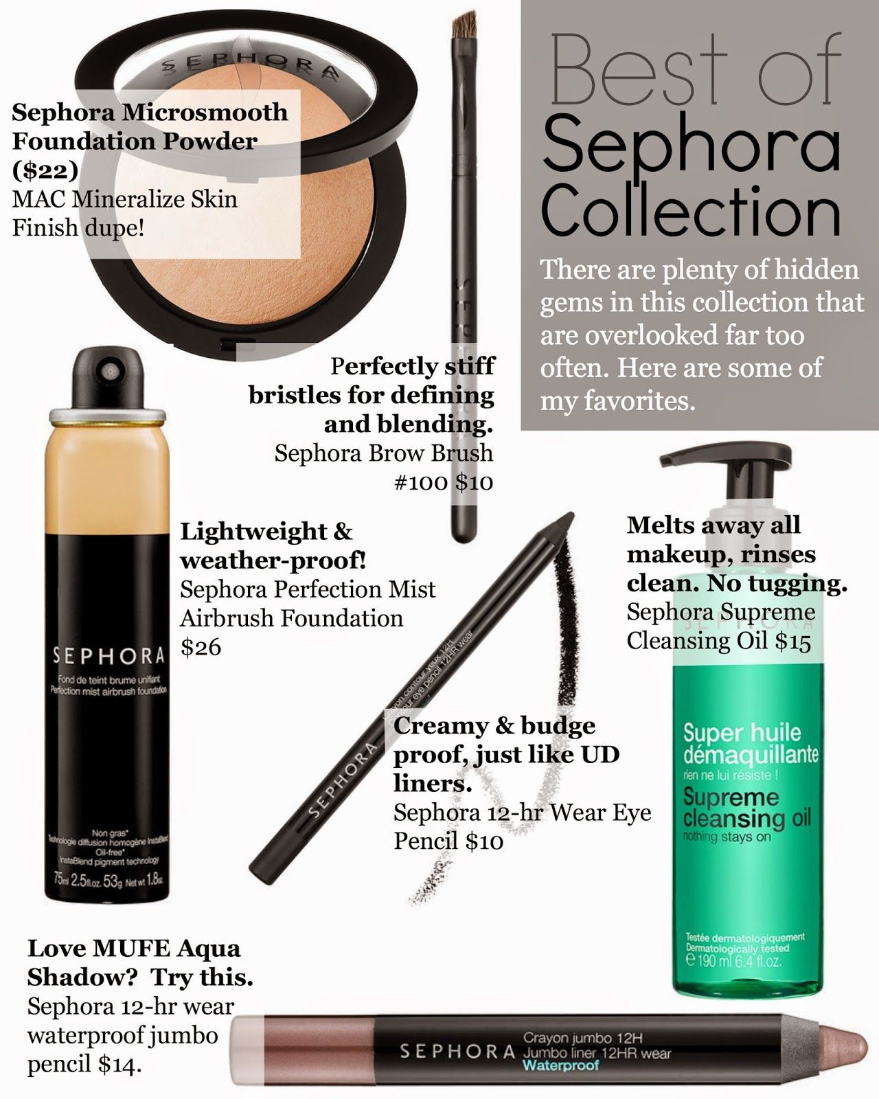 Best of Sephora Collection Products Sephora brands