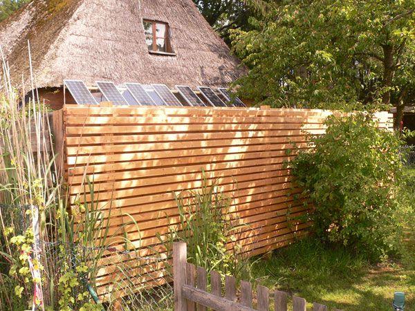 Zaun In Douglasie Rhombus Holzfassaden Von Archeholz Garden Und