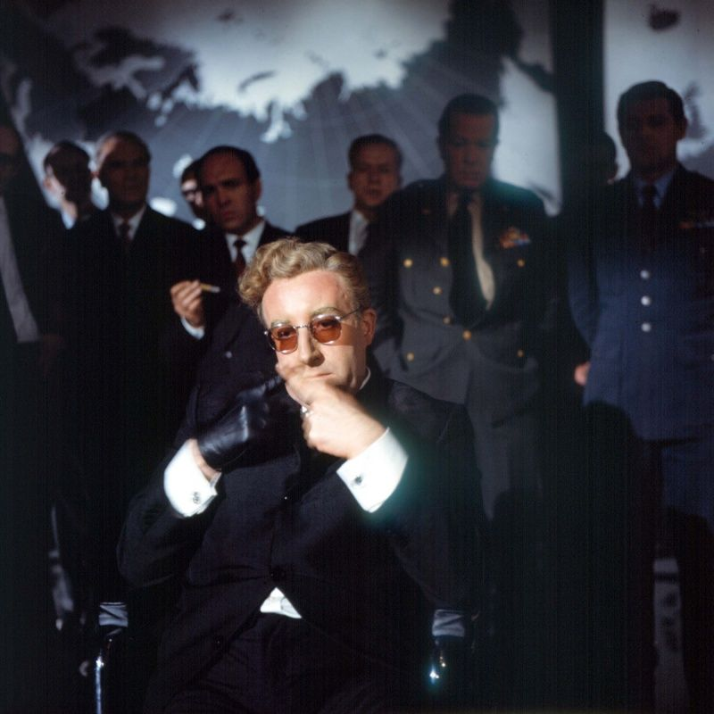 Peter Sellers As Dr Strangelove In Dr Strangelove Or: Peter Sellers As Dr. Strangelove In Dr. Strangelove Or