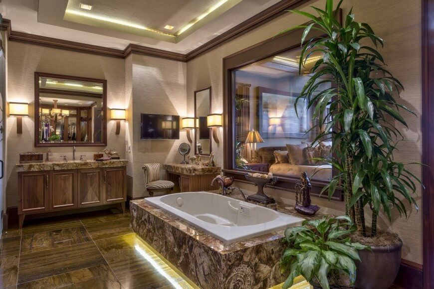 homey inspiration marble floor design ideas. 750 Custom Master Bathroom Design Ideas for 2018  Jacuzzi tub Wood