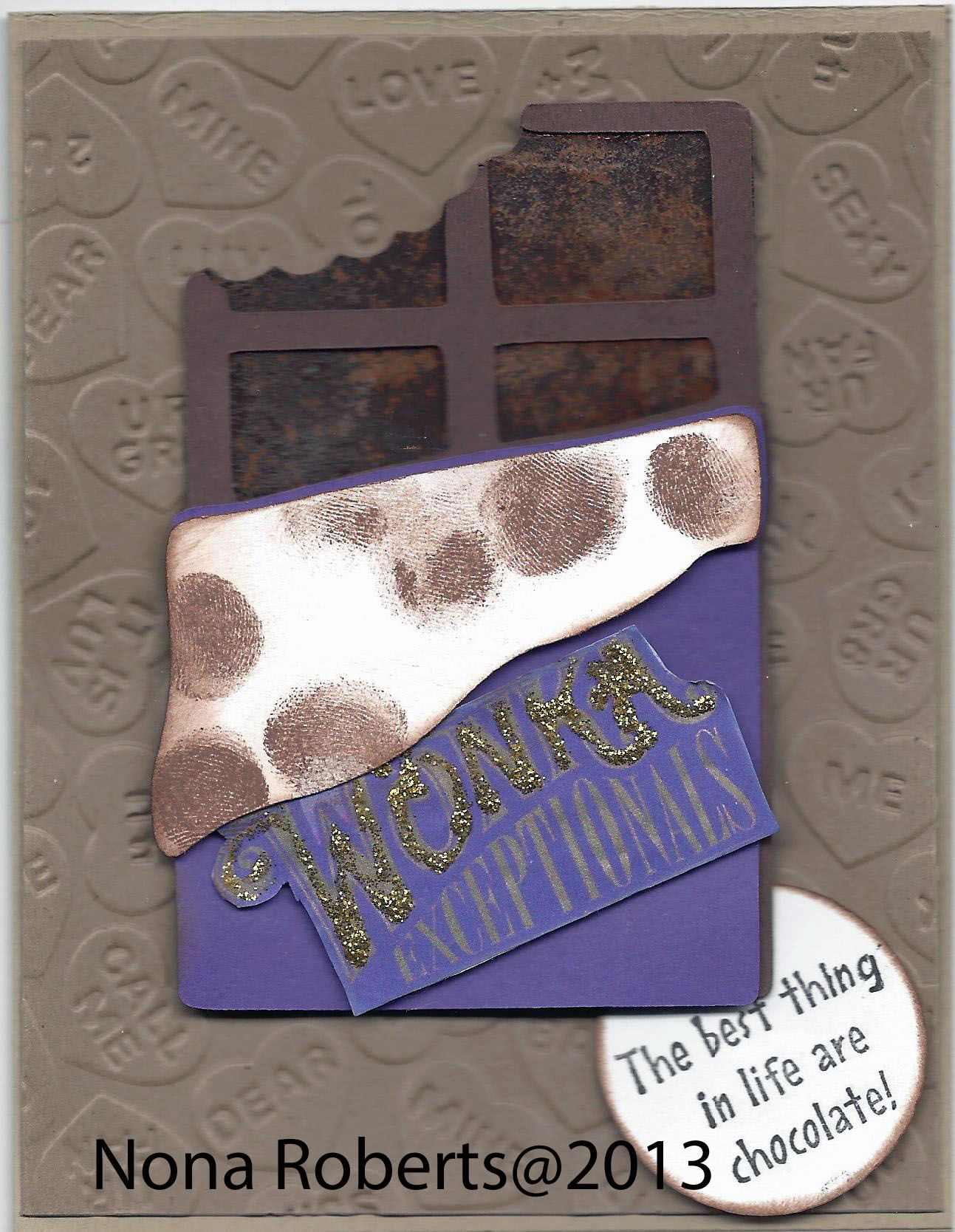 www.quwikcards.blogspot.com Used sweet shop cartridge to make the card