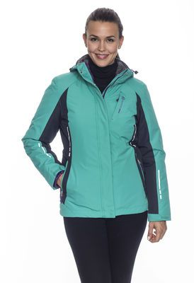 2f5cc622023 Turn every corner on the mountain in comfort with the Women s Everglade 3 -in-1 Systems Jacket.