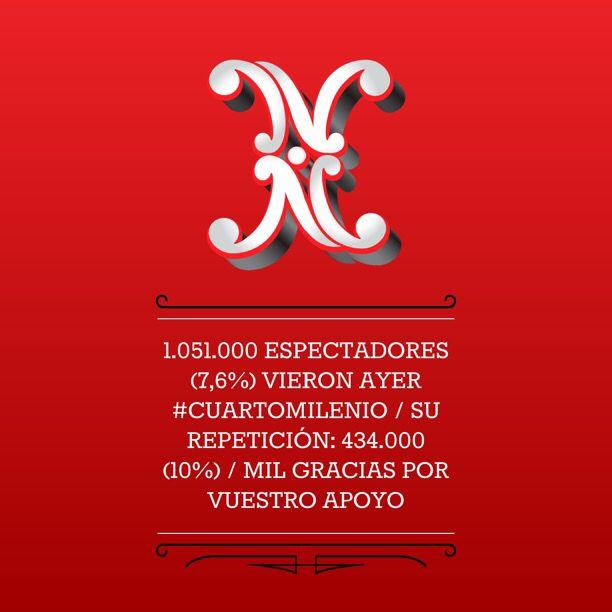 1.051.000 espectadores (7,6%) vieron ayer #CuartoMilenio / Su ...