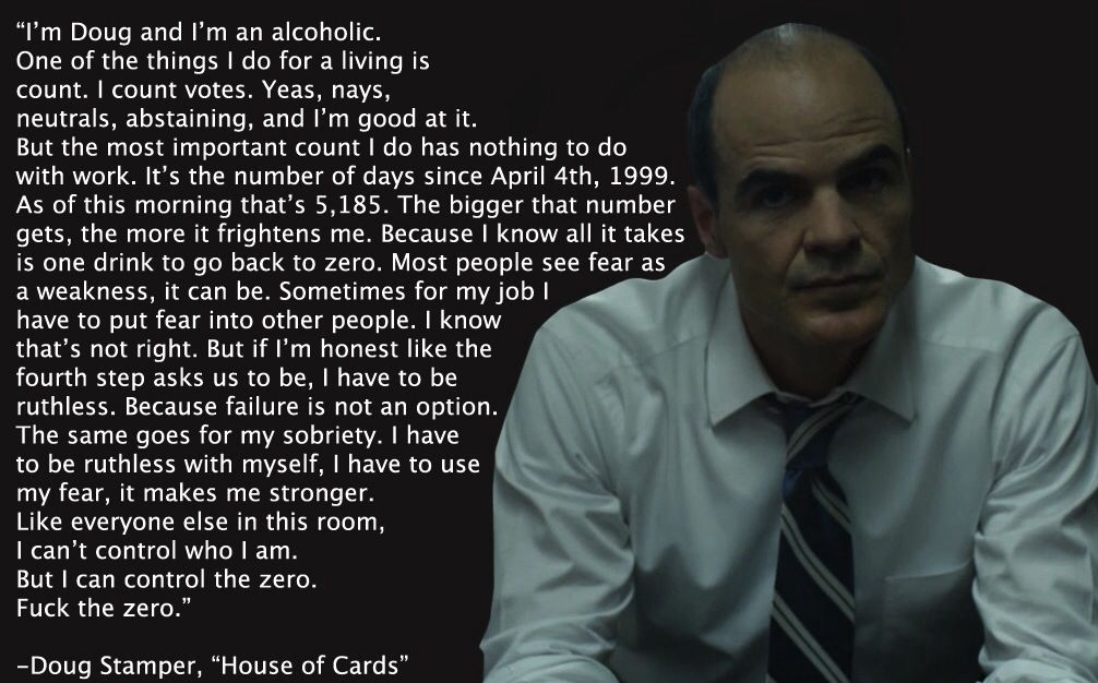 Doug stamper house of cards wisdom quotes tv show quotes
