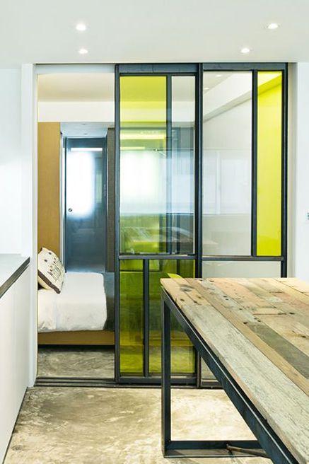 Verrieres Et Parois En Verre Pour Separer Les Espaces Decoration Maison Cloison Maison