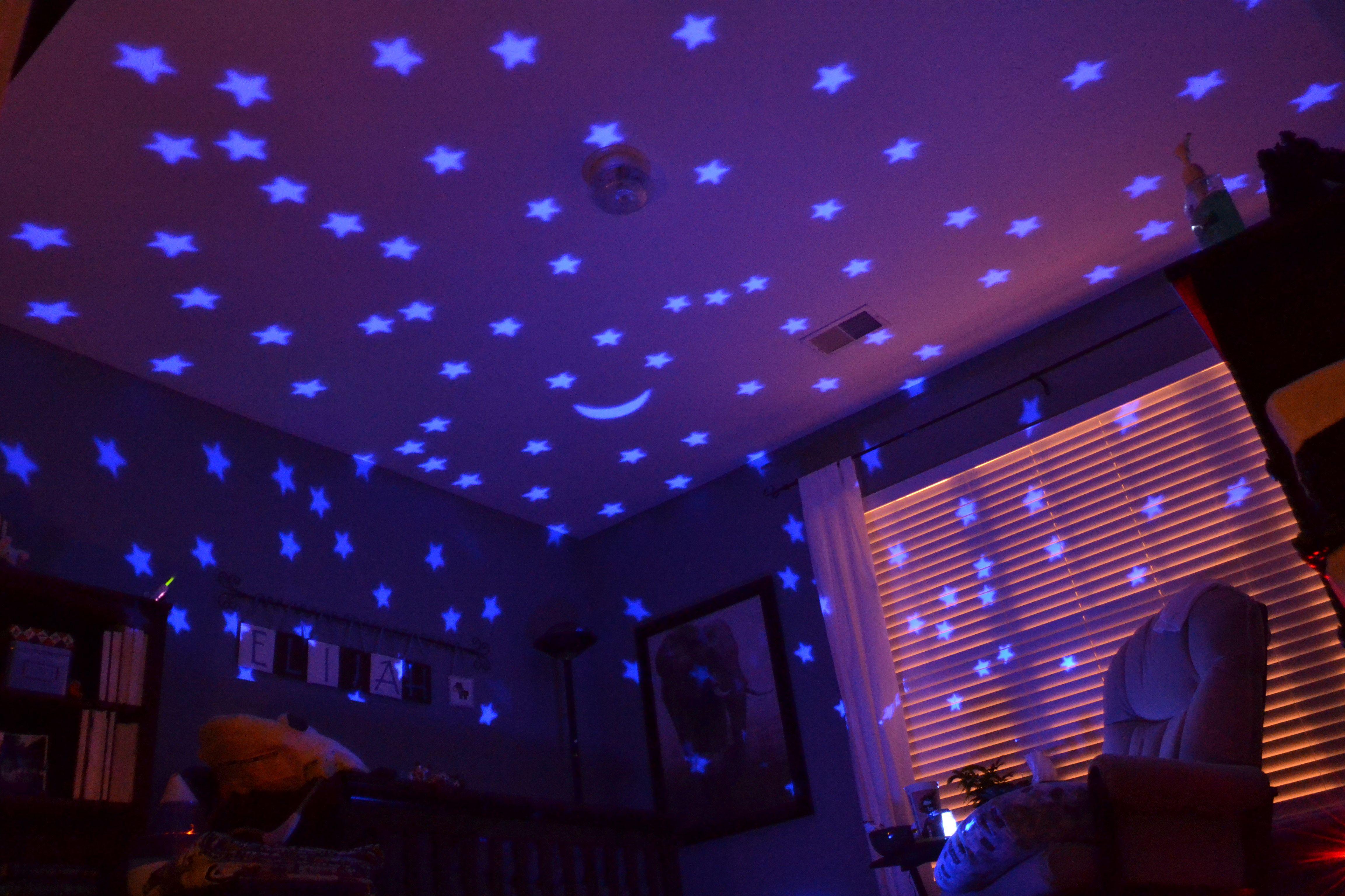 что потолок в зале сиренево розовое звездное небо фото более удивительно