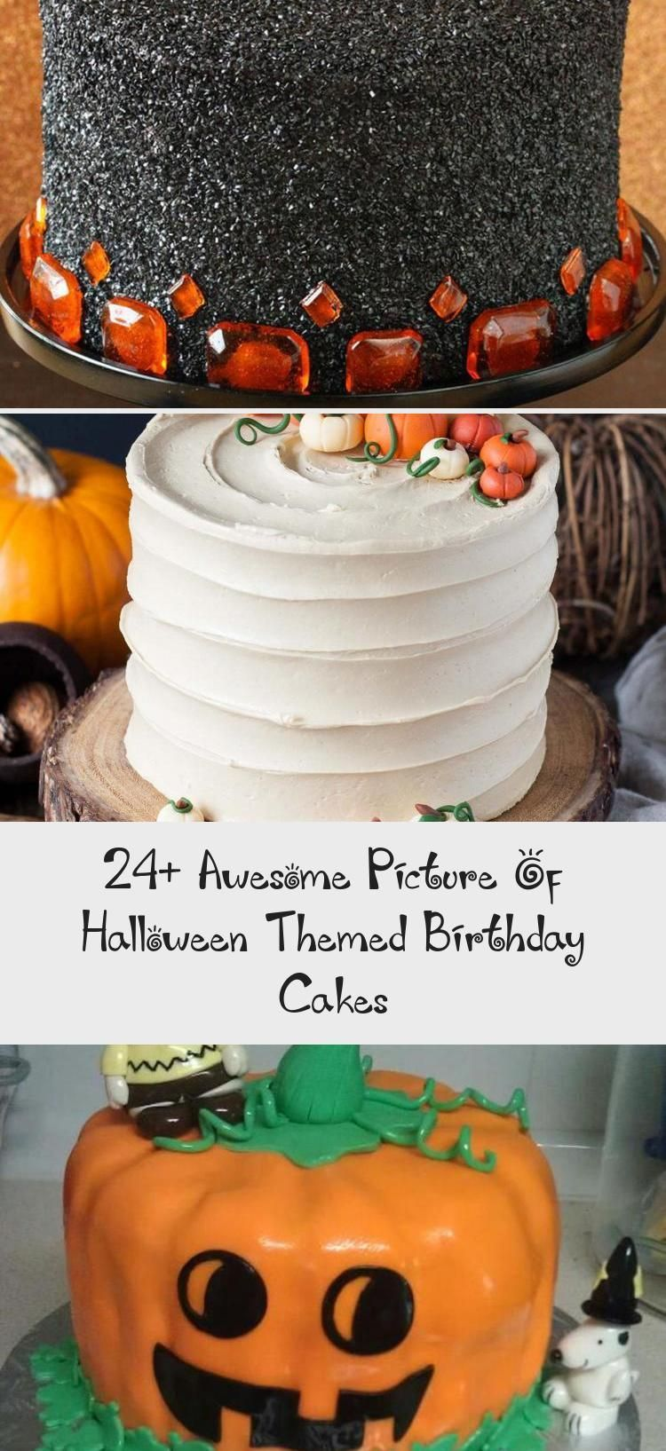 24+ Awesome Picture of Halloween Themed Birthday Cakes ...
