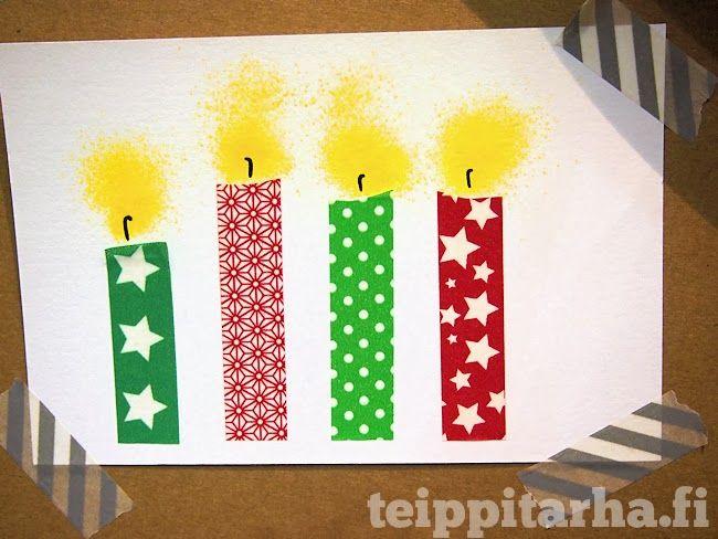 Kids Card Candles 30 Jopofa Gyerekekkel Konnyen Elkeszitheto Karacsonyi Kepeslap Diy Christmas Cards Christmas Cards Kids Christmas Card Design