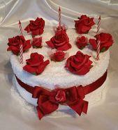 ** Geburtstag * Handtuchtorte * rote Rosen **  ** Geburtstag * Handtuchtorte * r…,  #Geburt…  – Mein Blog