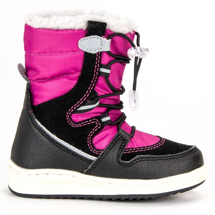 Kozaki Dla Dzieci Arrigobello Rozowe Ocieplane Sniegowce Arrigo Bello Boots Winter Boot Shoes