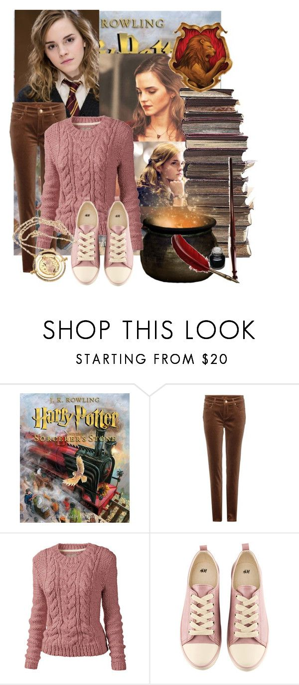 """""""Hermione Granger 3/50"""" by domino-80 ❤ liked on Polyvore featuring Emma Watson, Loro Piana, Fat Face and H&M"""