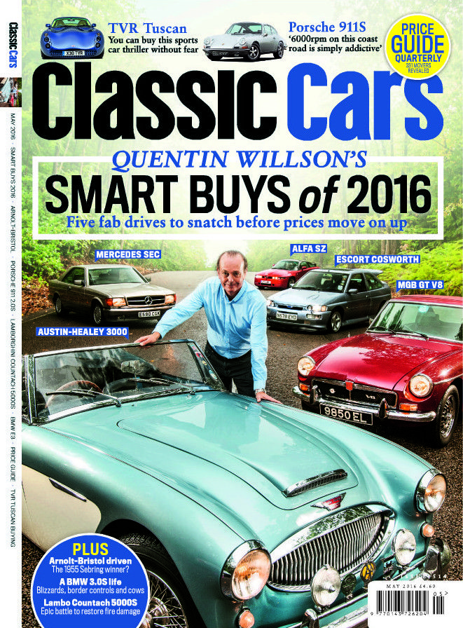 May issue of Classic Cars magazine: Quentin Willson\'s Smart Buys of ...