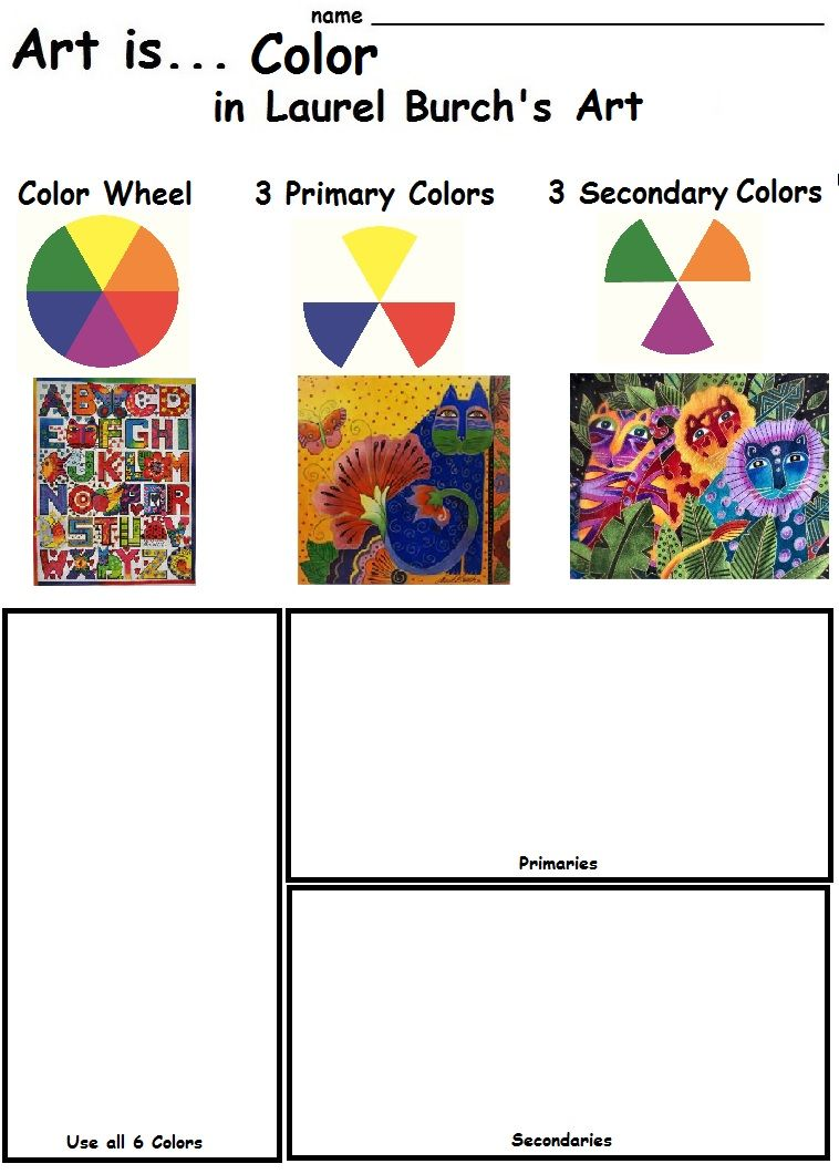 Color-theory-worksheet & ... Worksheets Color Wheel For High ...