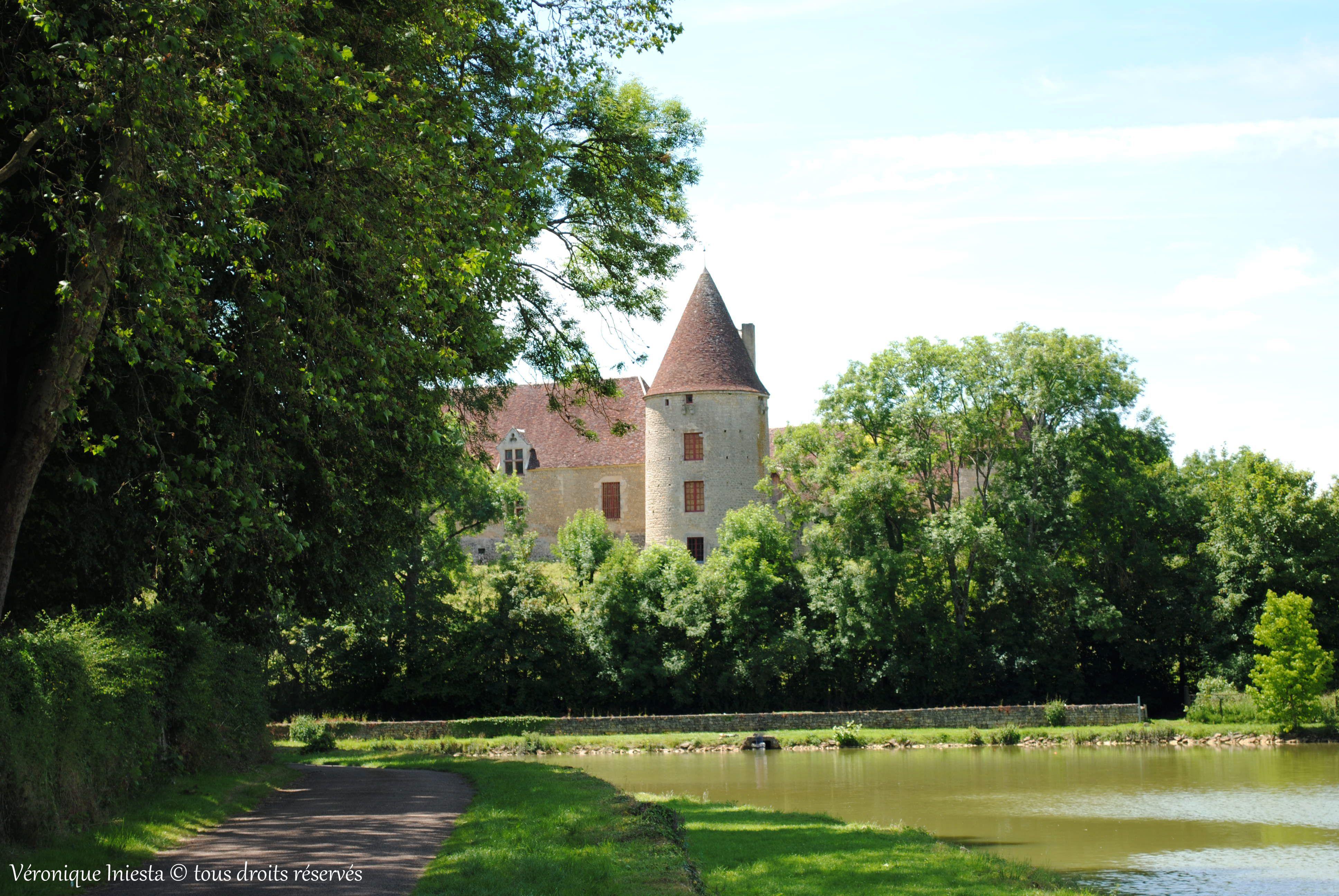 Chateau De La Motte A Arthel Nievre Vilas
