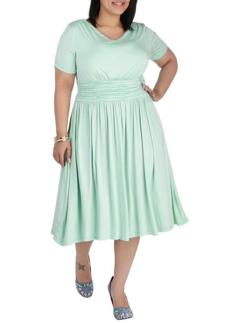 Twirl Next Door Dress   Mod Retro Vintage Dresses   ModCloth.com ...