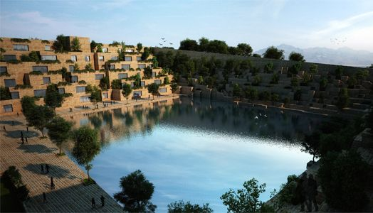 Sanjay Puri Architects has scored a hat-trick: winning their most recent third international award for this yet-to-be-built Reservoir project in Rajasthan at the WAF, as the Best Office (Future) Building of the Year 2015…