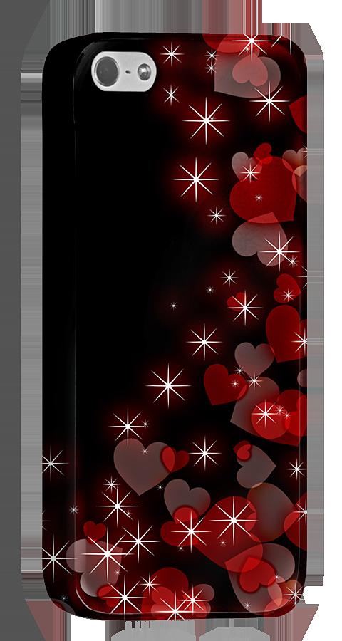 ハートが闇のなかできらきらとひかっています。きっとあなたもきらりとひかる女子なのでしょう。このiPhone5/5s用ケースでときめきを感じてください。  http://originalprint.jp/ls/215291/4bd05a2e93acea3e224d2592ad9b2e19665f8b98