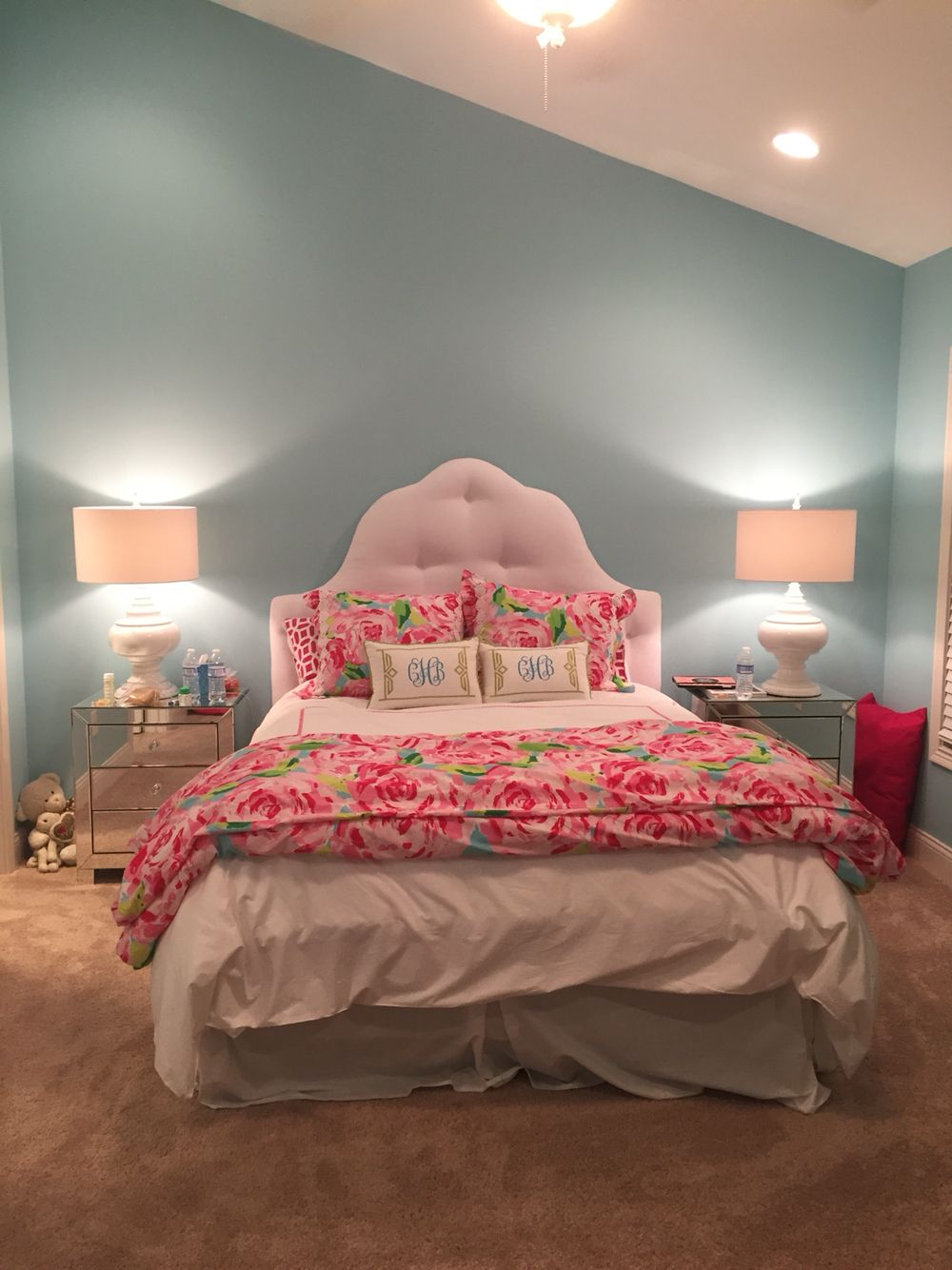 Himalayan Salt Lamp Bed Bath And Beyond Alluring Lilly Pulitzer And Pottery Barn Teen Comforter With Monogrammed Design Inspiration