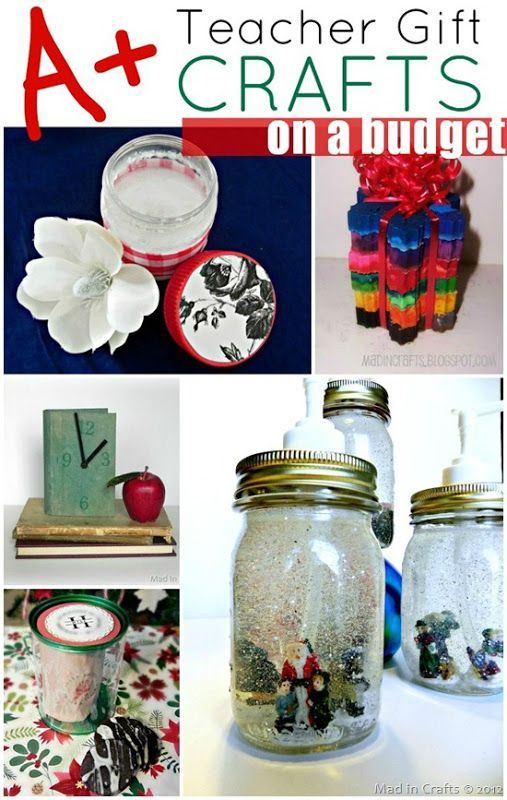 Budget-Friendly Homemade Christmas Gift Round-up | Gift Ideas ...