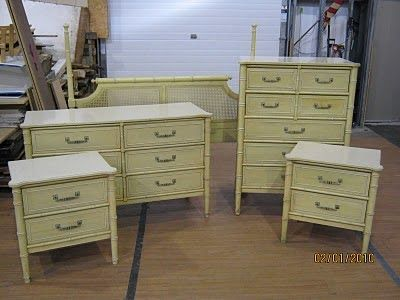 Remember The Faux Boo Henry Link Bali Hai Furniture Set I Scored From Craigslist To Go With This And Yes Still Have