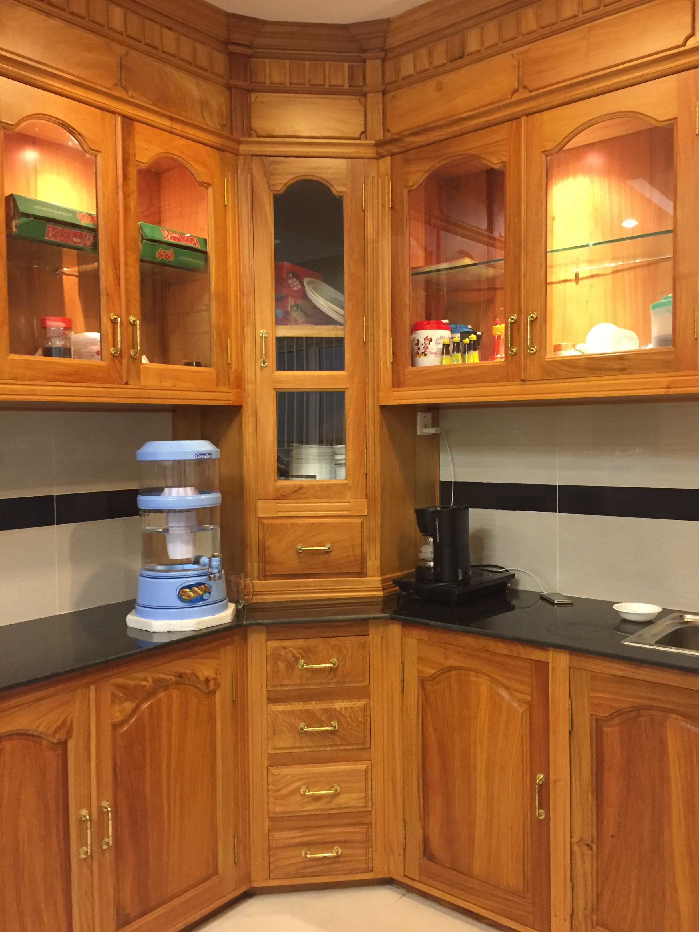 Khmer Solid Wood Kitchen Solid Wood Kitchens Kitchen Cabinets