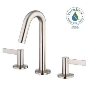 207 Danze Amalfi 4 In 2 Handle Minispread Bathroom Faucet In Brushed Nickel D304030bn At The Home Depot Sink Faucets Bathroom Faucets Bathroom Sink Faucets