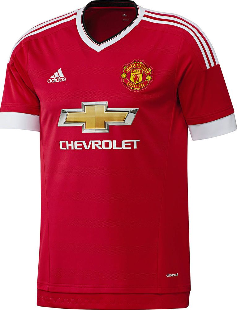ec2a17f7 Manchester United Football Club Home Jersey 2015 to 2016 Childrens Large  #adidas