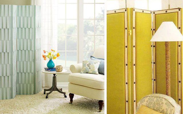 Ideas para decorar con biombos modernos cart n paredes estructuras biombos pinterest - Decoracion con biombos ...