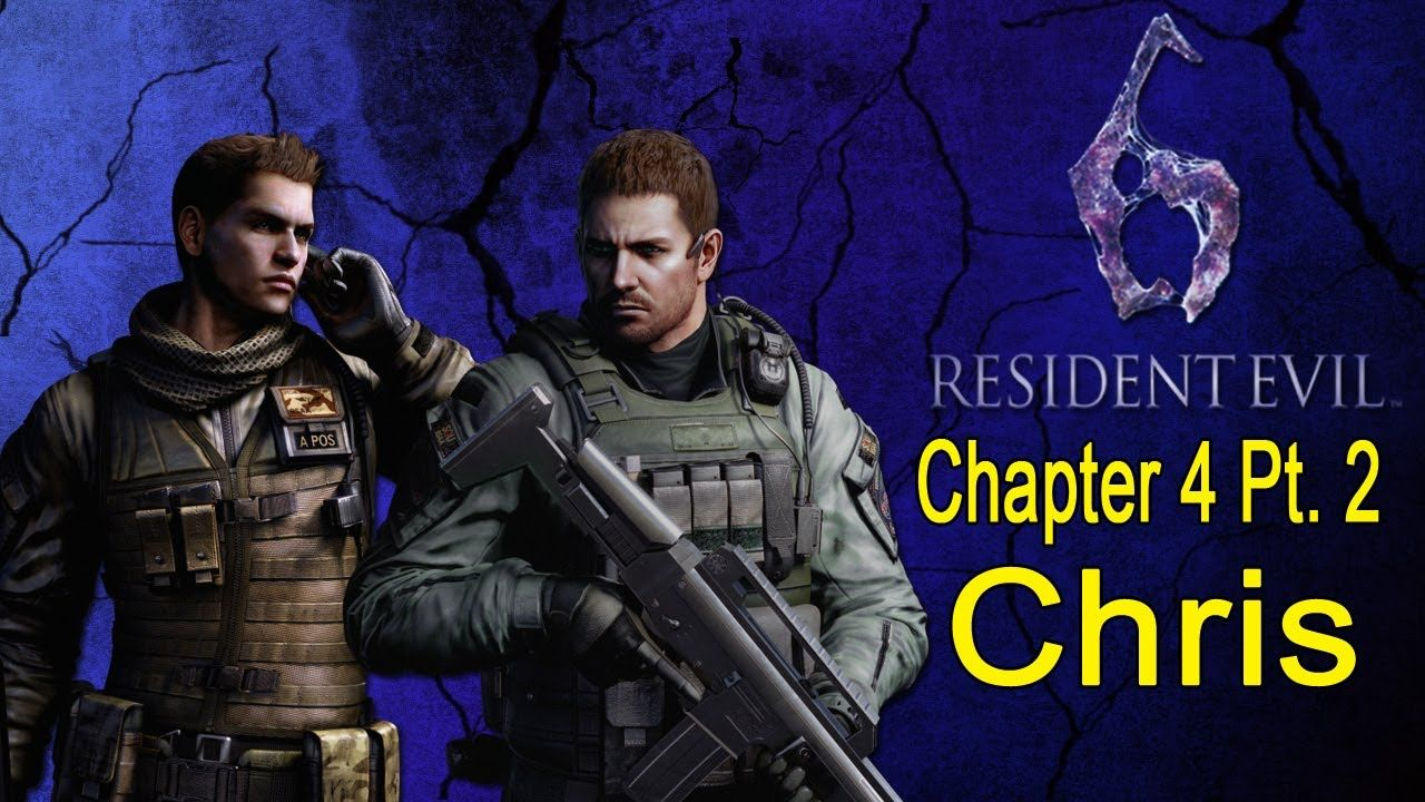 Resident Evil 6 Walkthrough (Chris Chapter 4 Pt. 2/4)