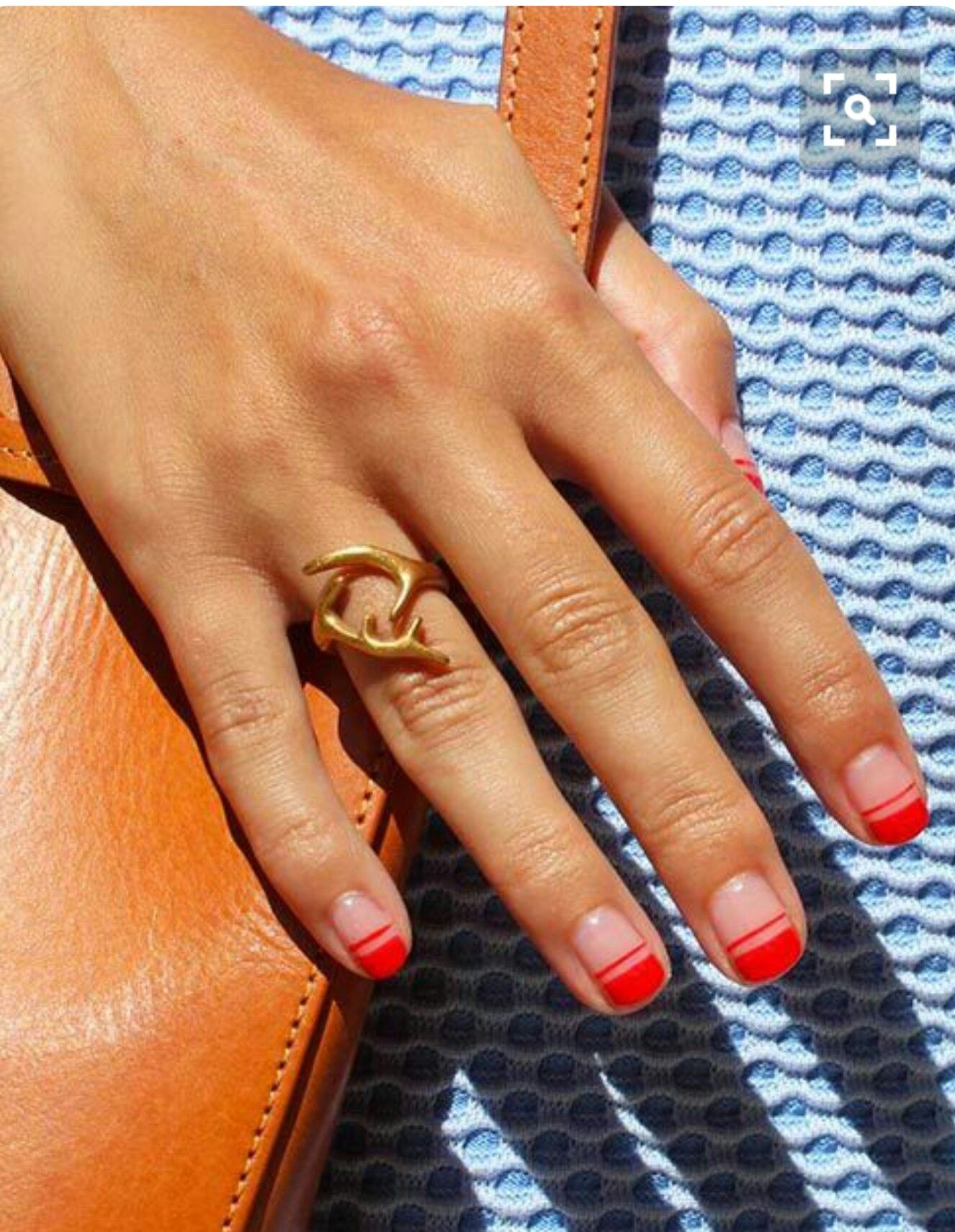 Red French manicure. | Nails | Pinterest | Red french manicure ...