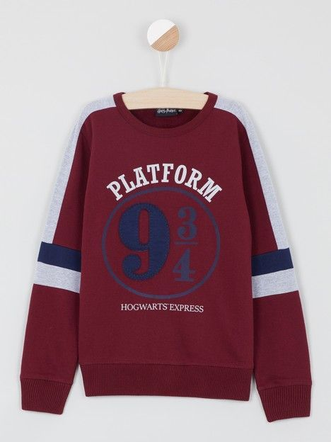 Sweat Harry Potter HARRY POTTER Bordeaux – Achat Sweat Harry Potter Bordeaux pas cher