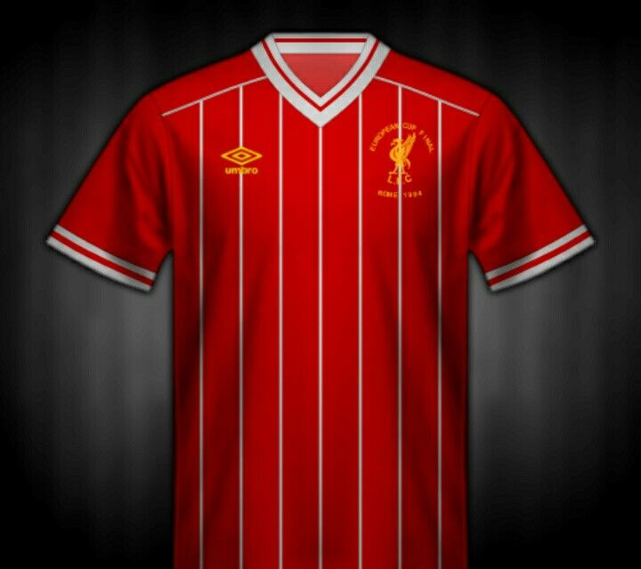 fcea66fd5 Liverpool shirt for the 1984 European Cup Final.