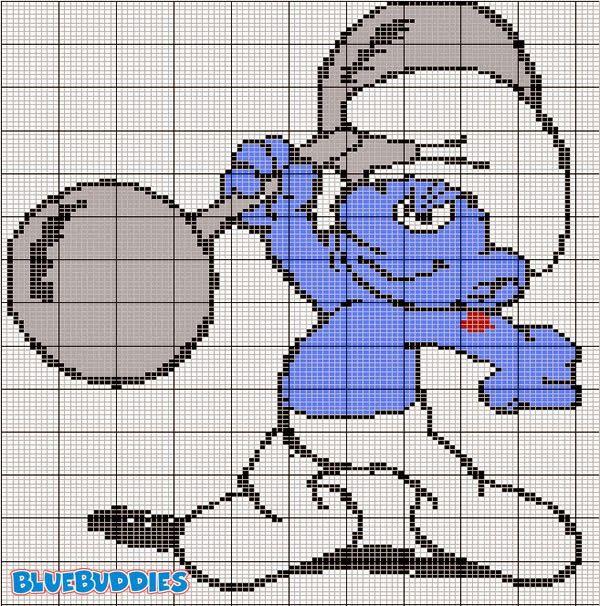 MAGIC CROSS STITCH: schemi cartoni animati