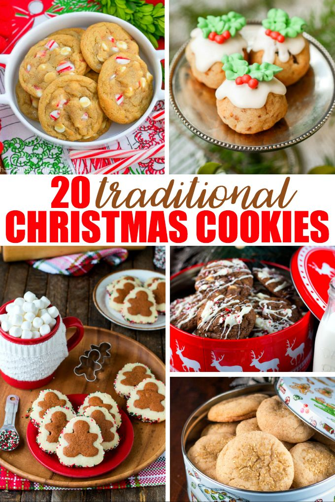 20 Traditional Christmas Cookies Holiday And Seasonal Recipes