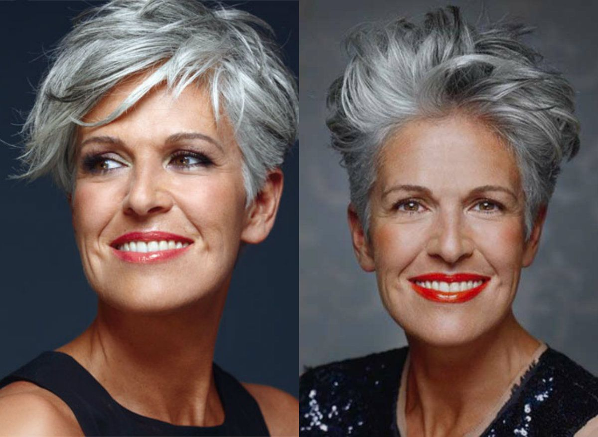 Hair Style Over 50: 2017 Pixie Haircuts For Women Over 50