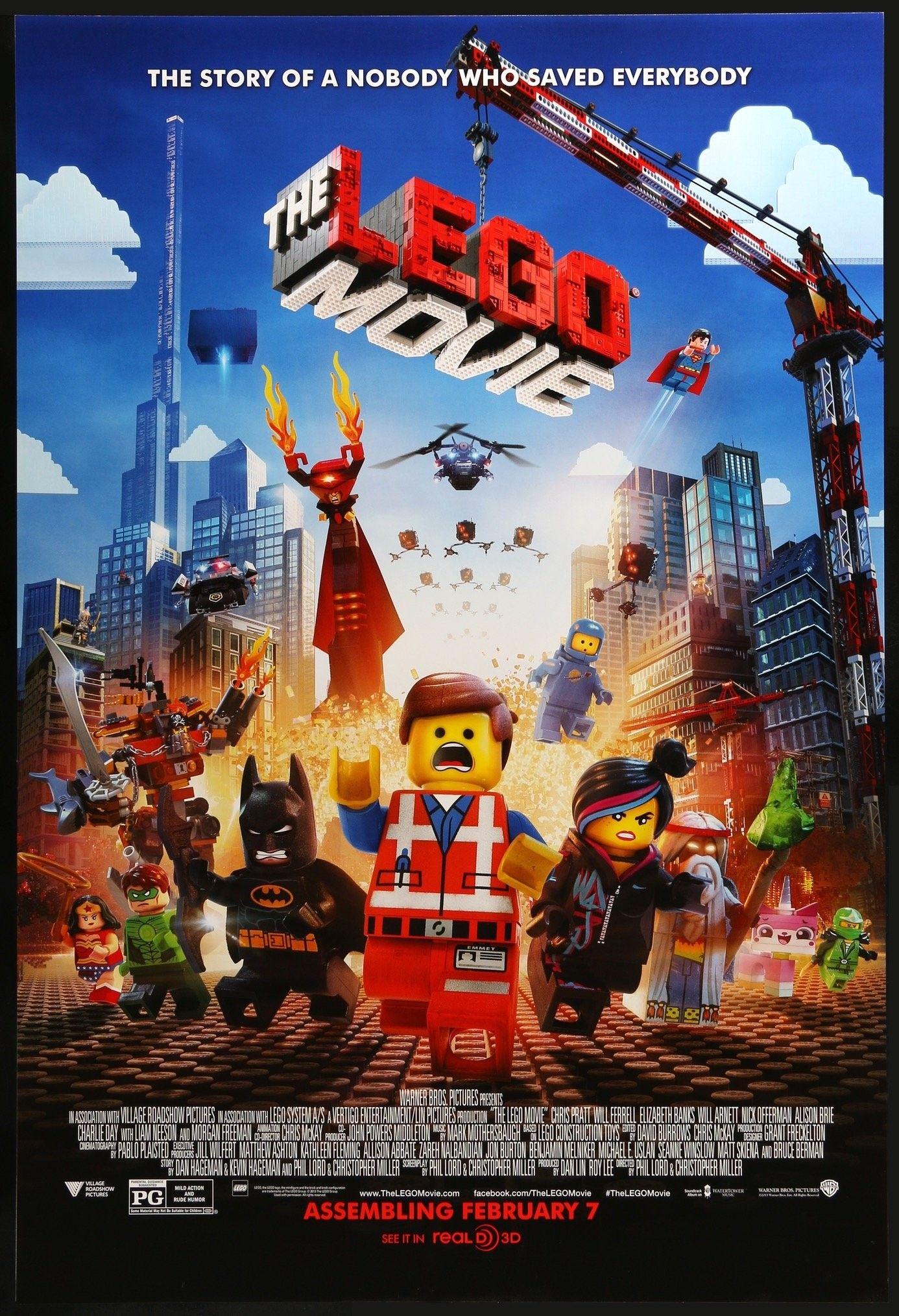 The Lego Movie Lego Movie Movies 2014 Movie Posters