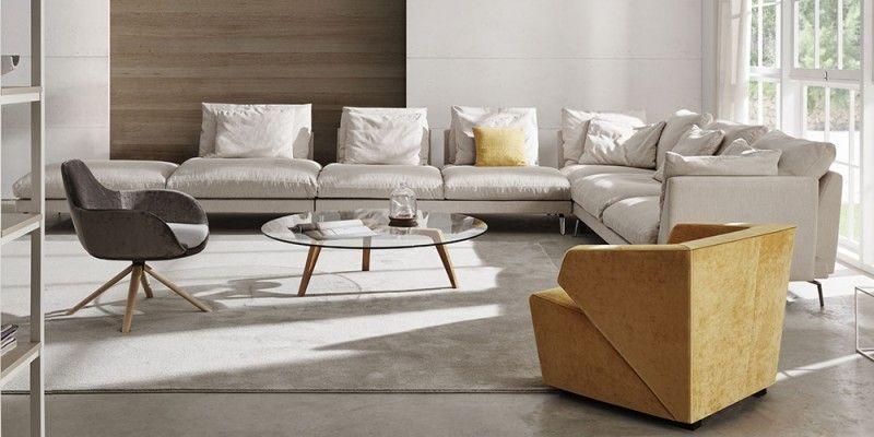 Wing, es un sistema de tapizados que permite una gran flexibilidad ...